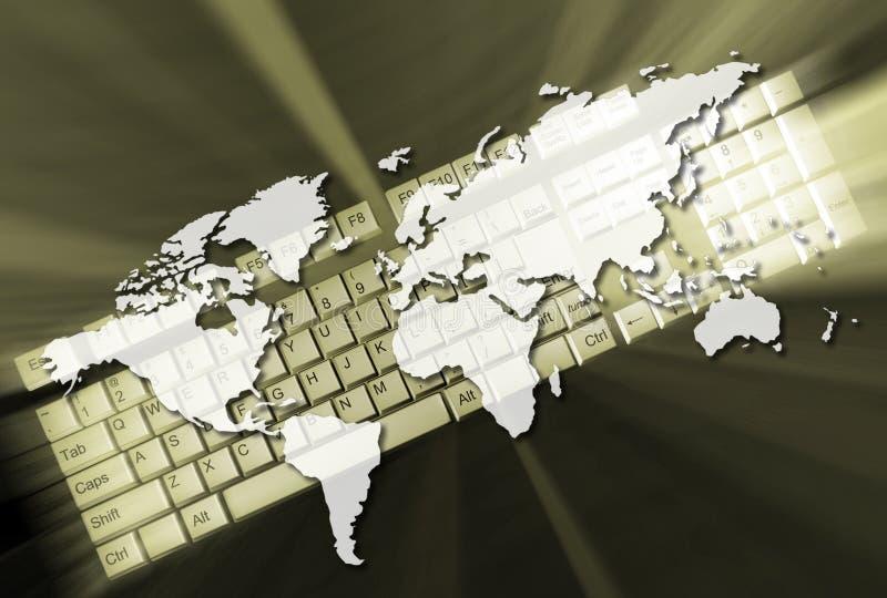 Het concept van het Web royalty-vrije illustratie