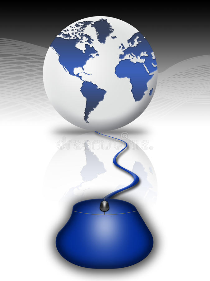 Het concept van Internet (11) vector illustratie