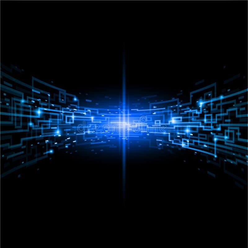 Het concept van Internet vector illustratie