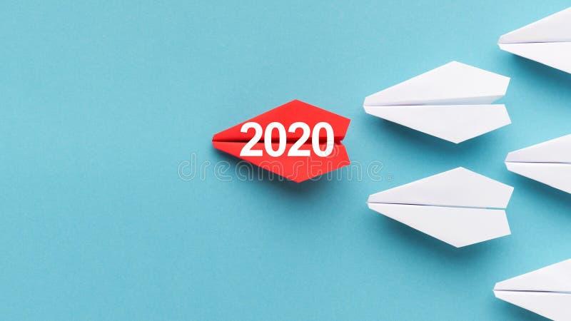 het concept van 2020 jaartendensen royalty-vrije stock afbeeldingen