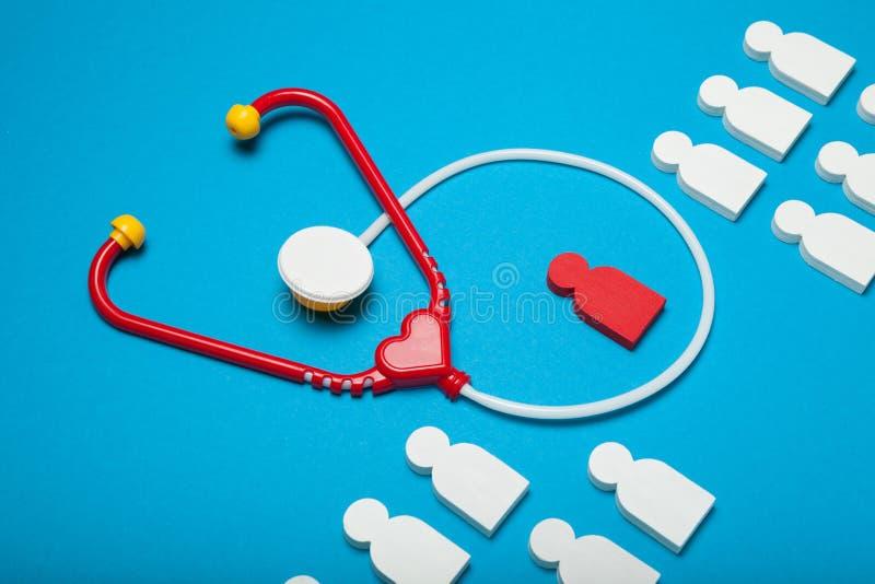 Het concept van het kindziekenhuis, pediater arts stock afbeeldingen