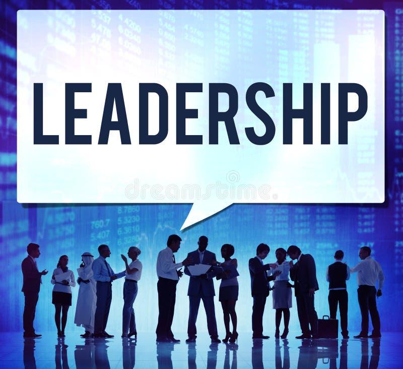 Het Concept van Lead Manager Management van de leidingsleider royalty-vrije stock afbeelding