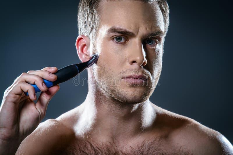 Het concept van Nice voor mannelijke schoonheid royalty-vrije stock afbeelding