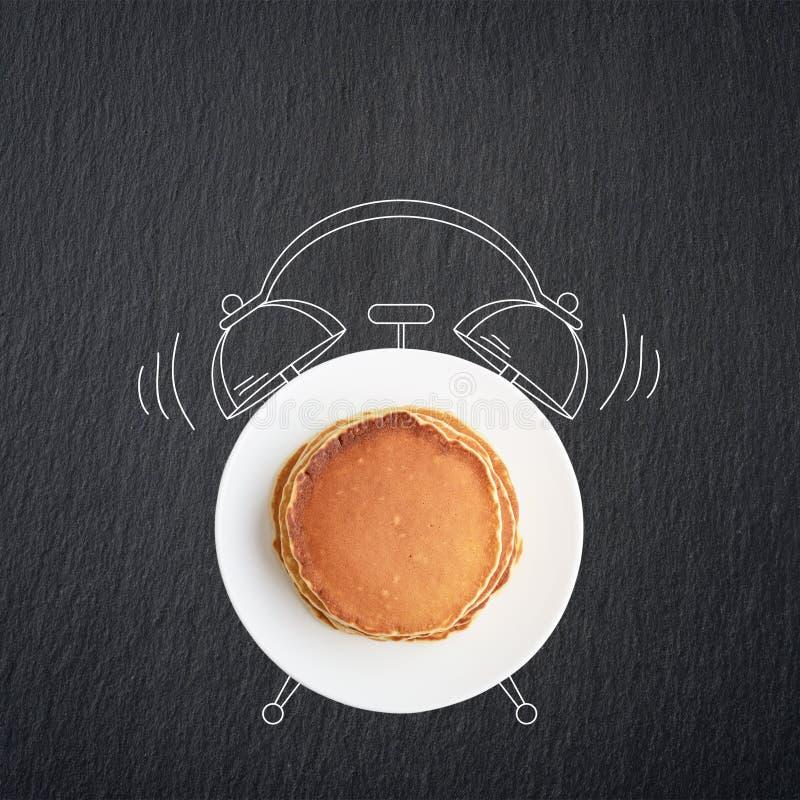 Het concept van het ontbijt royalty-vrije stock foto