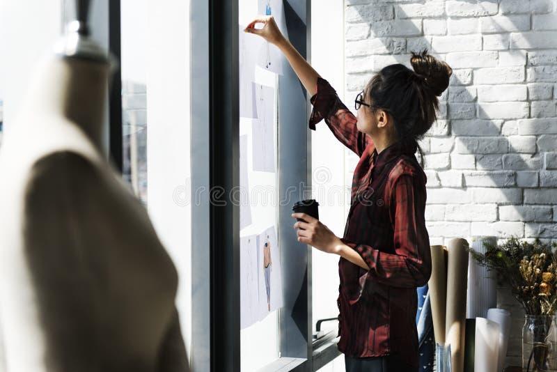 Het Concept van ontwerperstyle stylist showroom stock afbeelding
