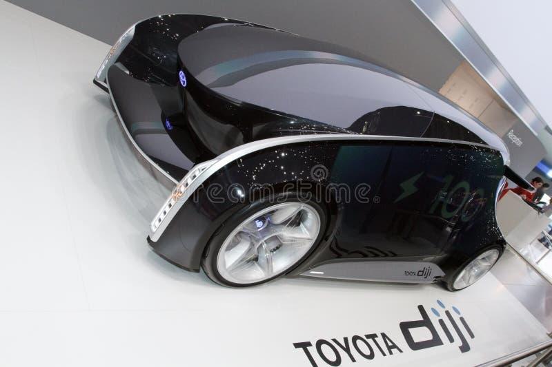 Het Concept van Toyota Diji - de Show van de Motor van Genève 2012 stock afbeelding