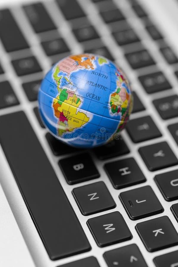 Het concept van World Wide Web - Internet- stock foto