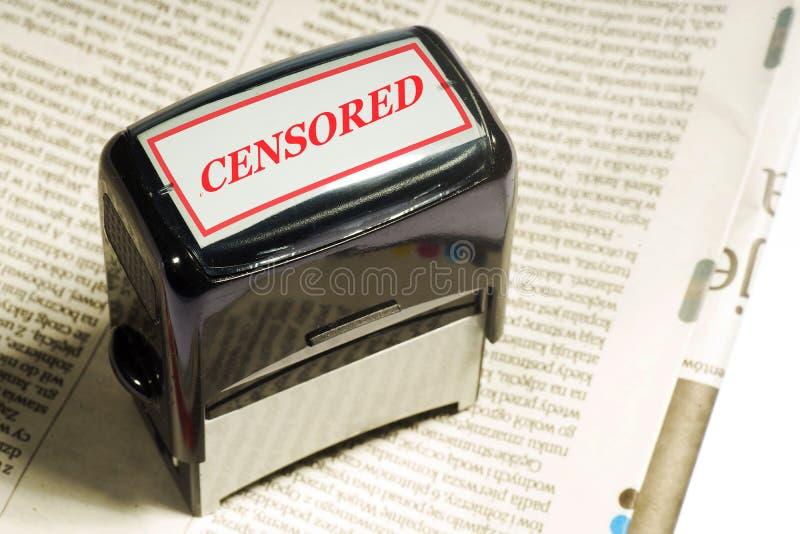 Het concept vrijheid van meningsuiting in de media royalty-vrije stock afbeelding
