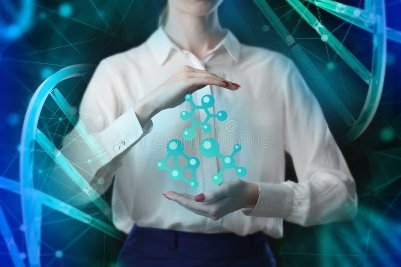 Het concept zaken, technologie, Internet en networ stock afbeelding