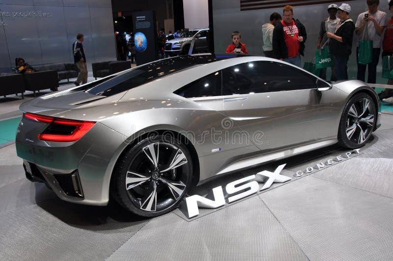 Het Conceptenauto van Acura NSX stock afbeelding