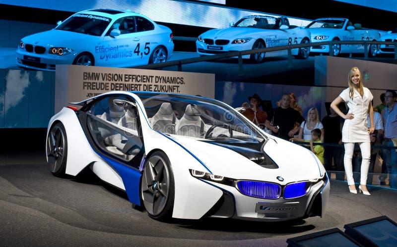 Het conceptenauto van BMW stock foto's