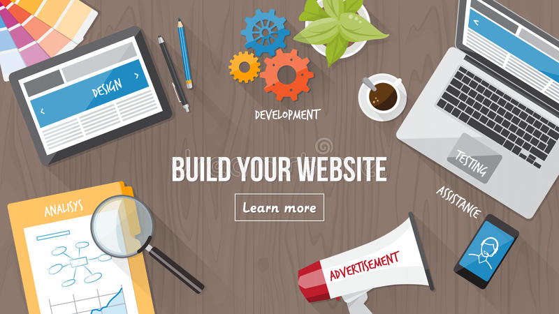Het conceptenbureau van het Webontwerp
