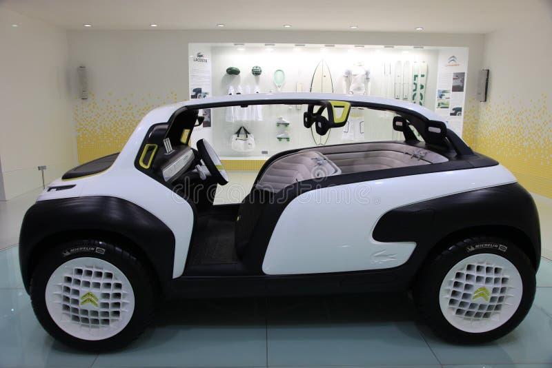 Het conceptensportwagen van Citroën lacoste royalty-vrije stock afbeelding