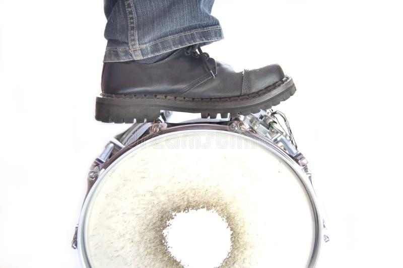 Het conceptuele beeld van trommels. royalty-vrije stock afbeelding