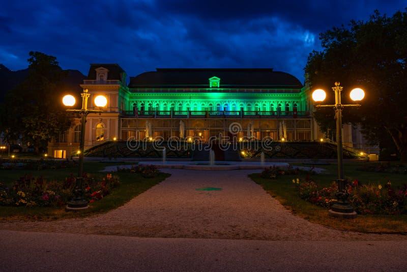 Het Congres en Theaterhuis in Slechte Ischl, Oostenrijk royalty-vrije stock fotografie