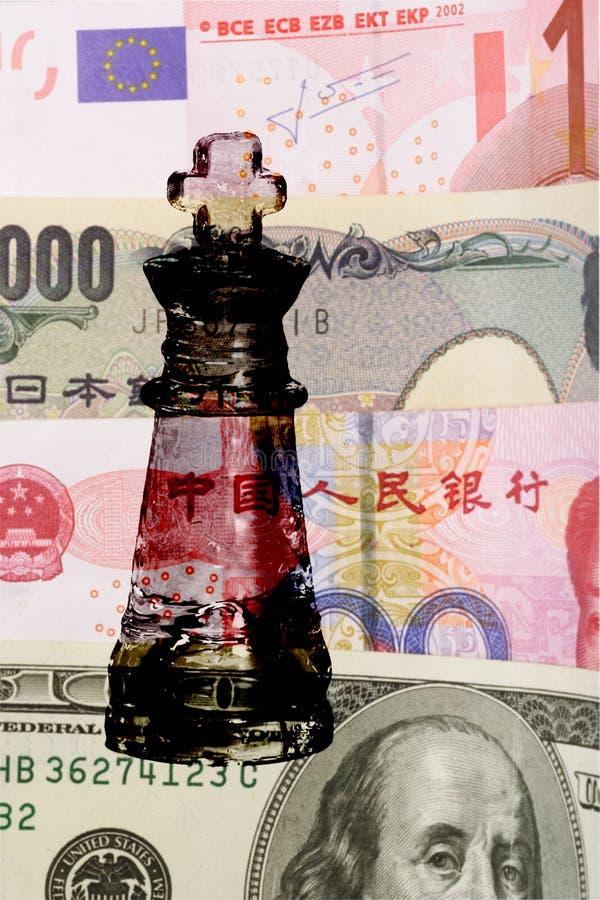 Het contante geld is koning royalty-vrije stock foto