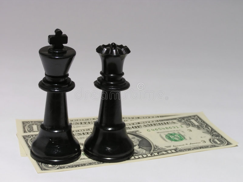 Het contante geld is koning #2 royalty-vrije stock foto