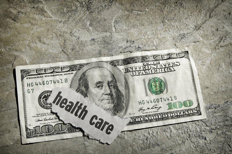 Het contante geld van de gezondheidszorg royalty-vrije stock fotografie