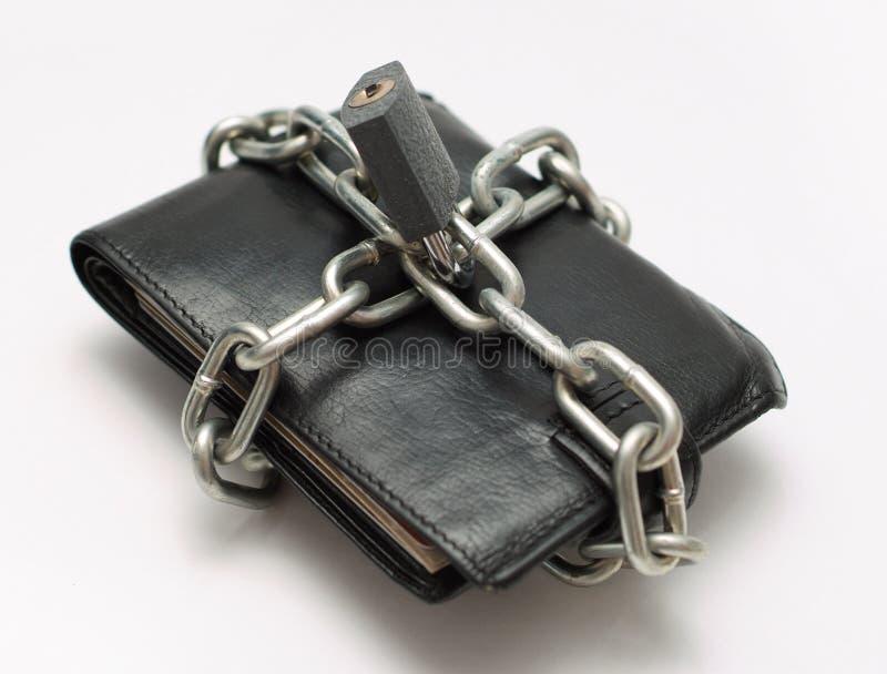 Het contante geldgeld van de besparing royalty-vrije stock afbeelding