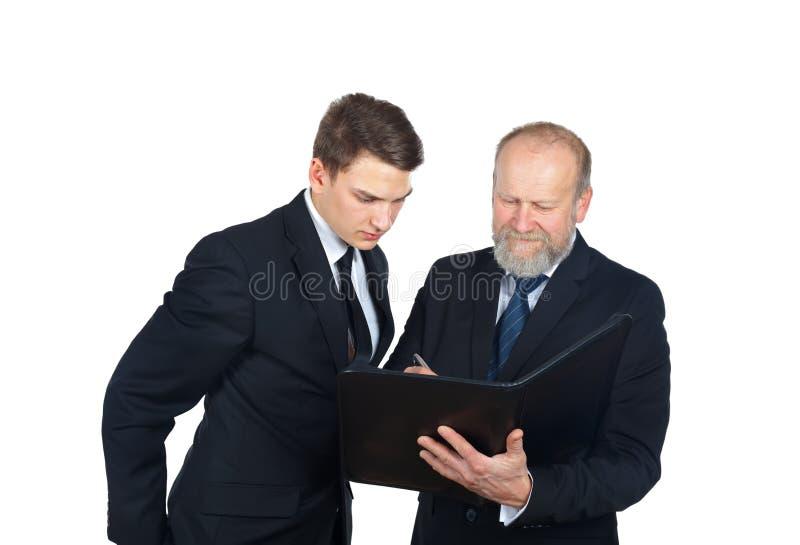 Het contract royalty-vrije stock afbeelding