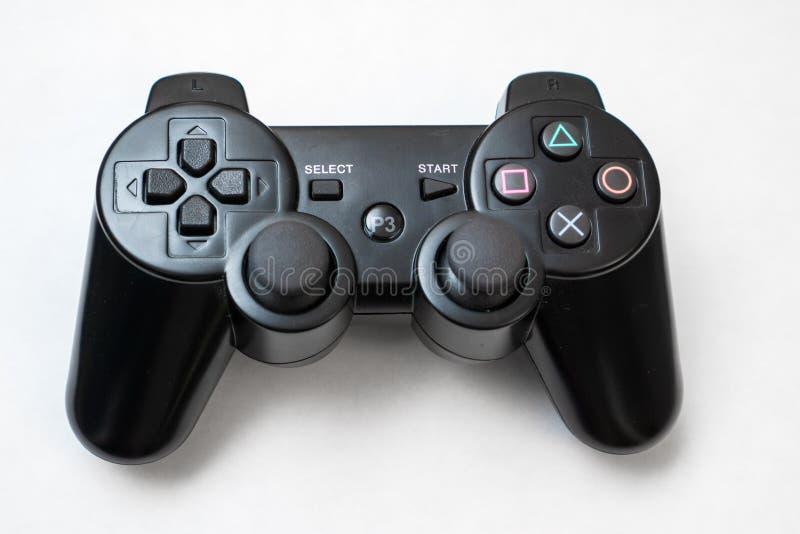 Het controlemechanisme van het spel stock afbeeldingen