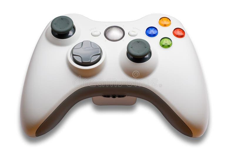 Het controlemechanisme van het videospelletje stock afbeeldingen