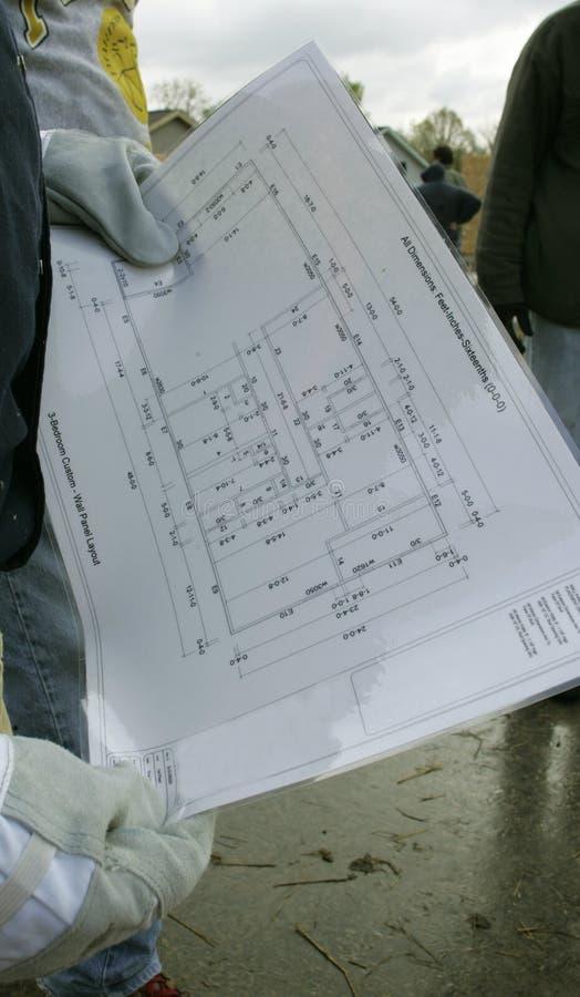 Het controleren van de Plannen stock foto's