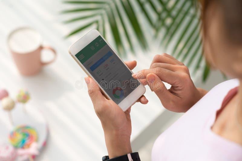 Het controleren van gezondheid royalty-vrije stock fotografie