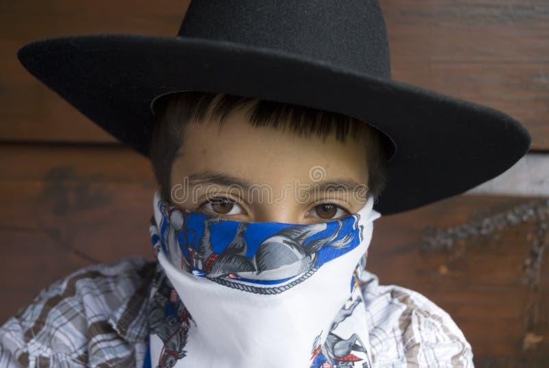 Het cowboy-leven stock foto