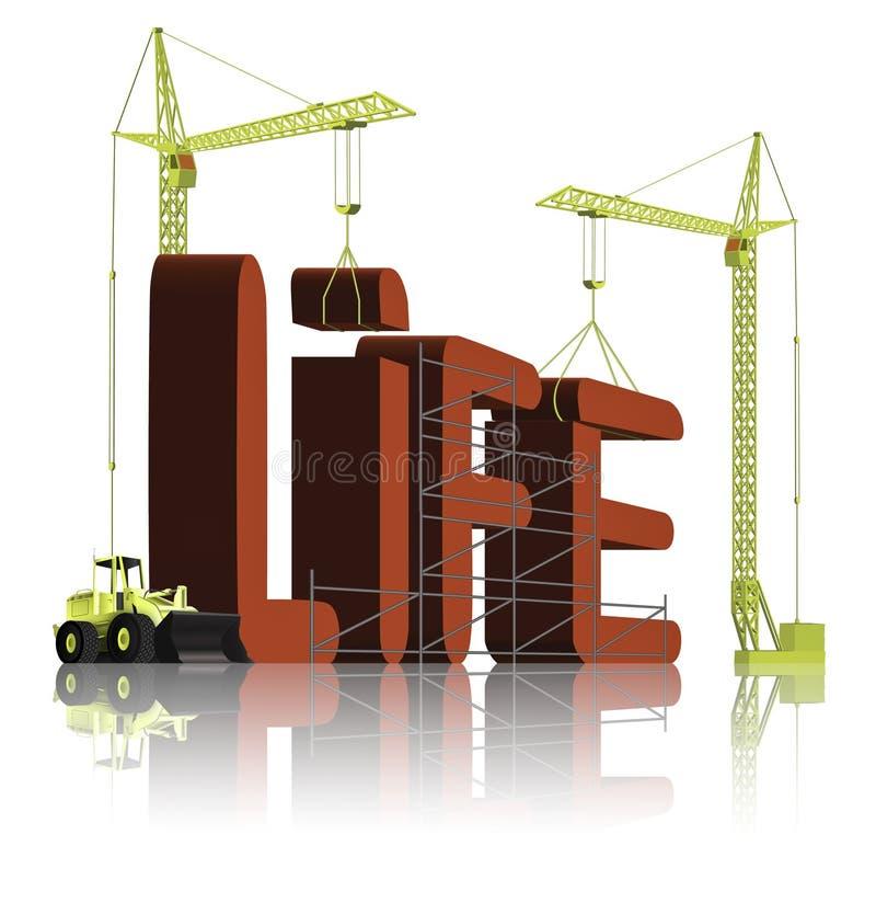 Het creëren van het leven vector illustratie