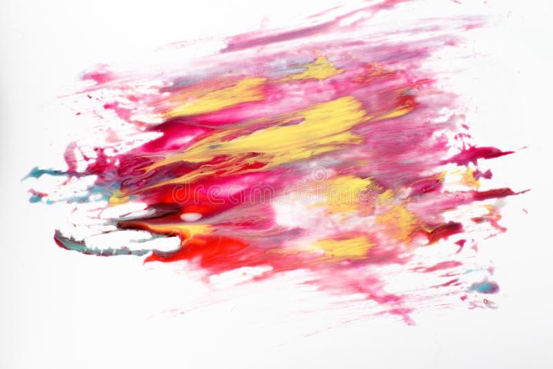 Het creatieve abstracte schilderen van melkweg, ruimteart. royalty-vrije stock afbeelding
