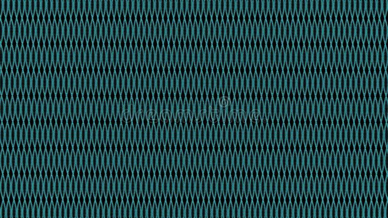 het 3d teruggeven van abstracte achtergrond met verbonden punt stock illustratie