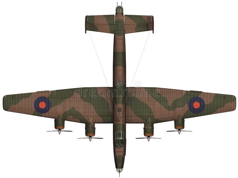 het 3d Teruggeven van een Handley-Pagina Halifax vector illustratie