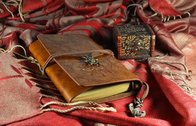 Het dagboek van het schip royalty-vrije stock afbeeldingen