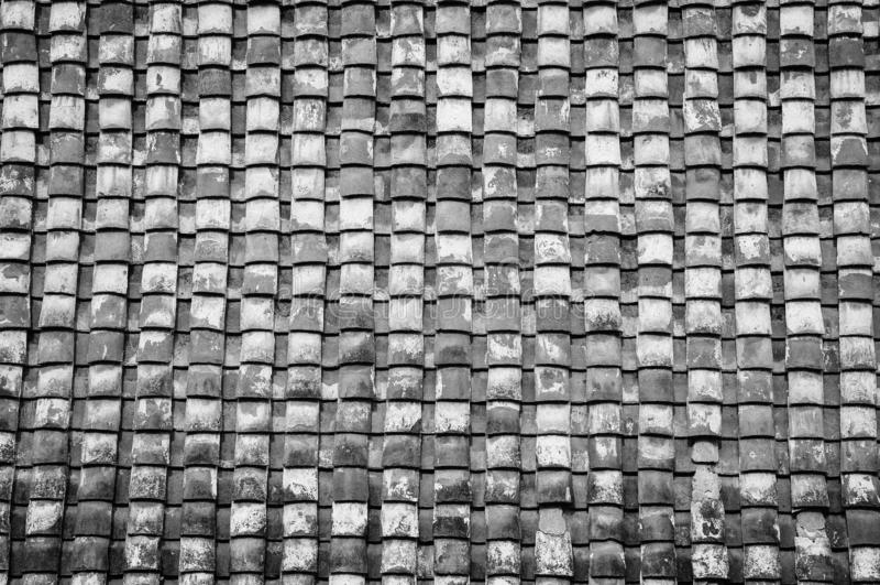 Het dak betegelt patroon royalty-vrije stock foto