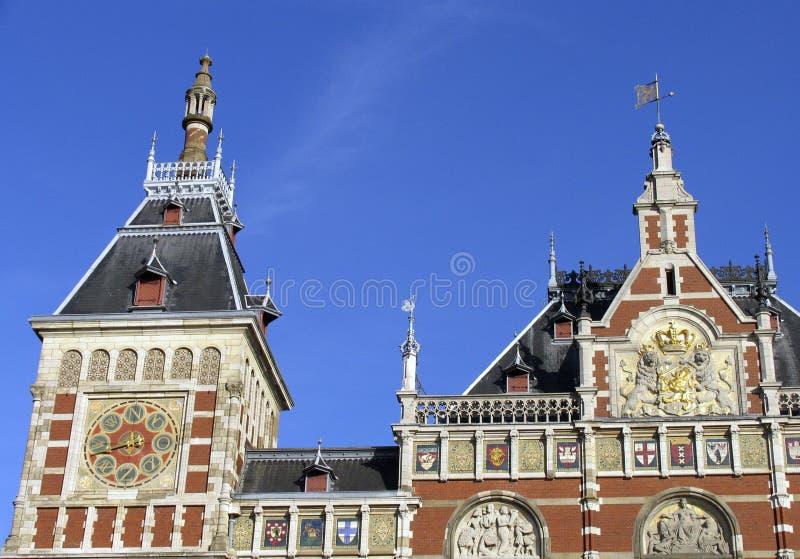 Het dak van de post royalty-vrije stock fotografie
