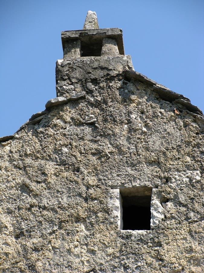 Het dak van de steen stock foto's
