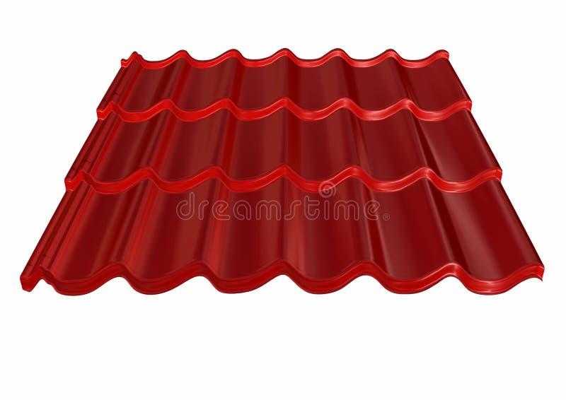 Het dak van de tegel royalty-vrije illustratie