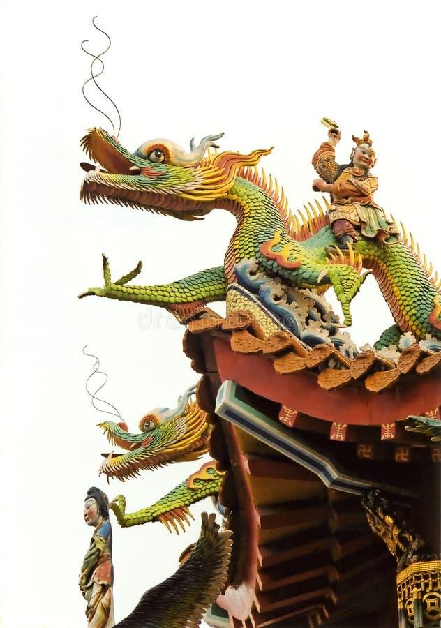 Het Dak van de tempel royalty-vrije stock foto's