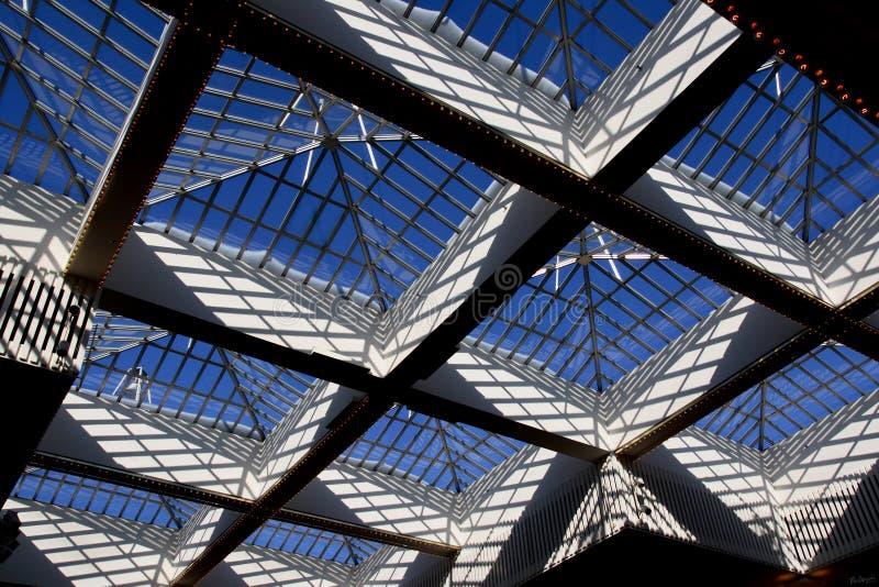 Het Dak van het glas stock afbeeldingen