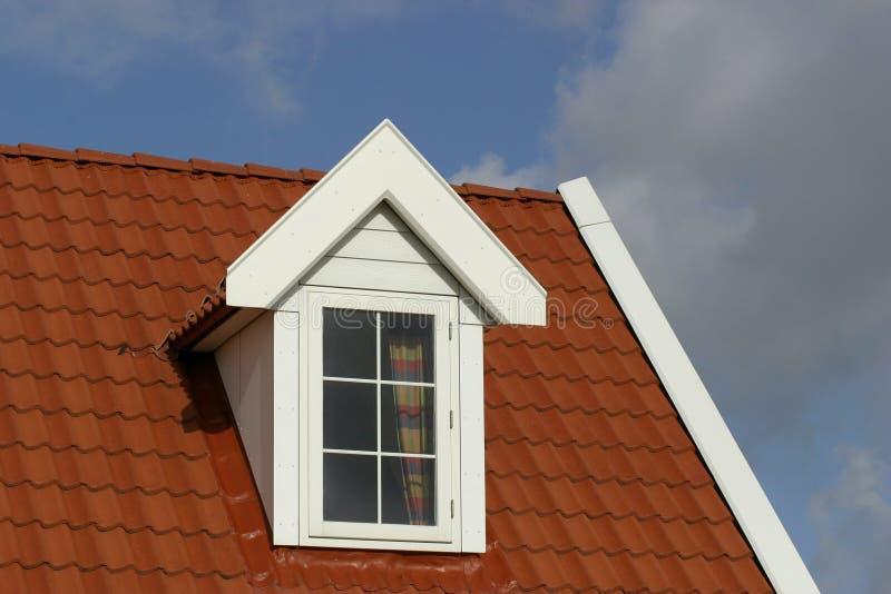 Het dak van het huis stock afbeeldingen