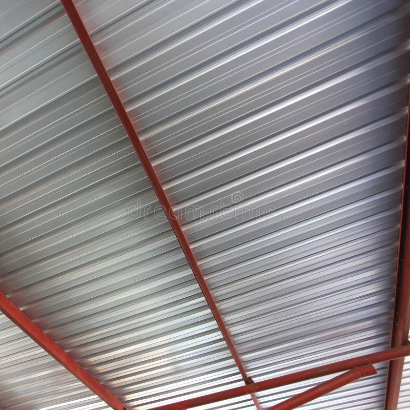 Het dak van het metaal stock foto's
