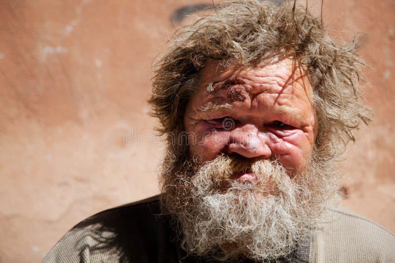 Het dakloze leven stock fotografie