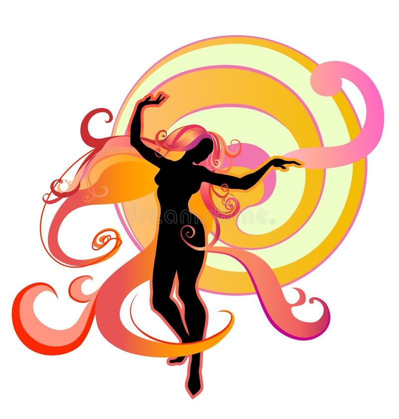 Het dansen royalty-vrije illustratie