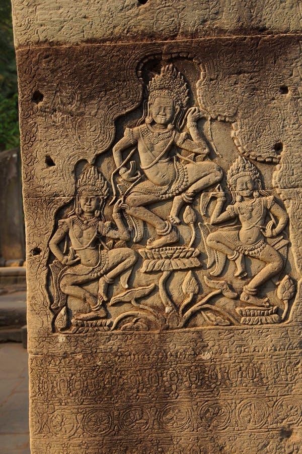 Het dansen apsaradevas royalty-vrije stock foto