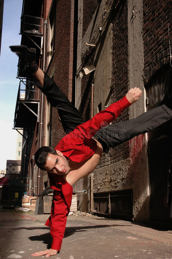 Het dansen in de straten