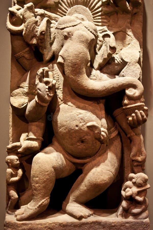 Het dansen Ganesha royalty-vrije stock foto's
