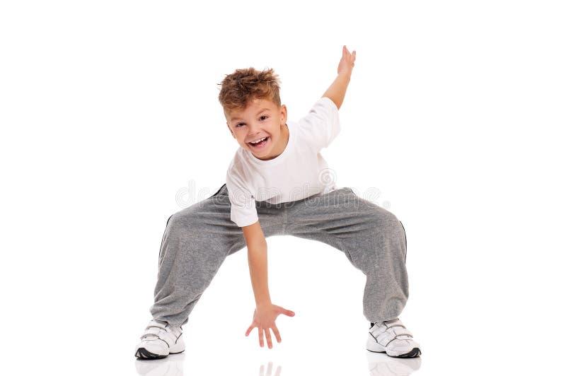 Het dansen van de jongen royalty-vrije stock foto's
