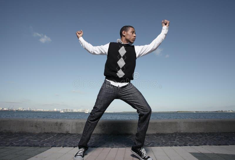 Het dansen van de tiener royalty-vrije stock afbeelding