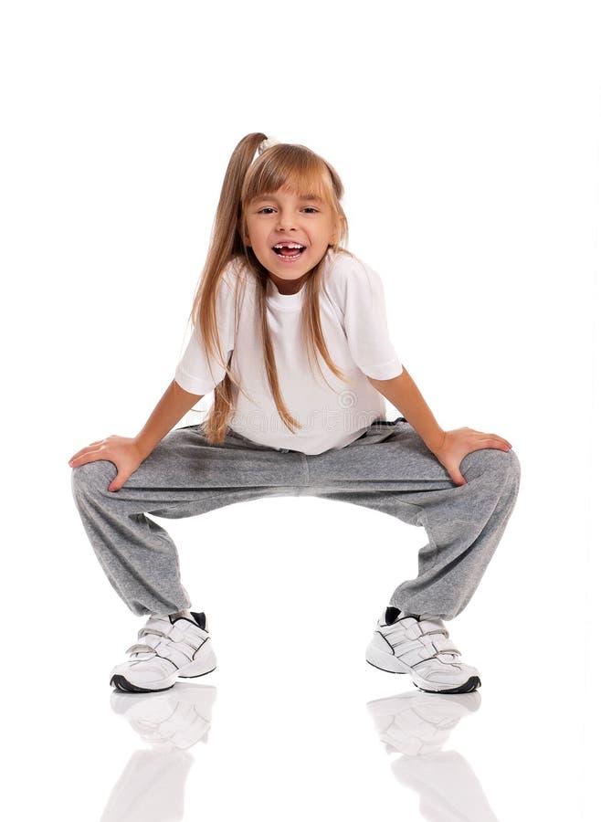 Het Dansen Van Het Meisje Stock Fotografie